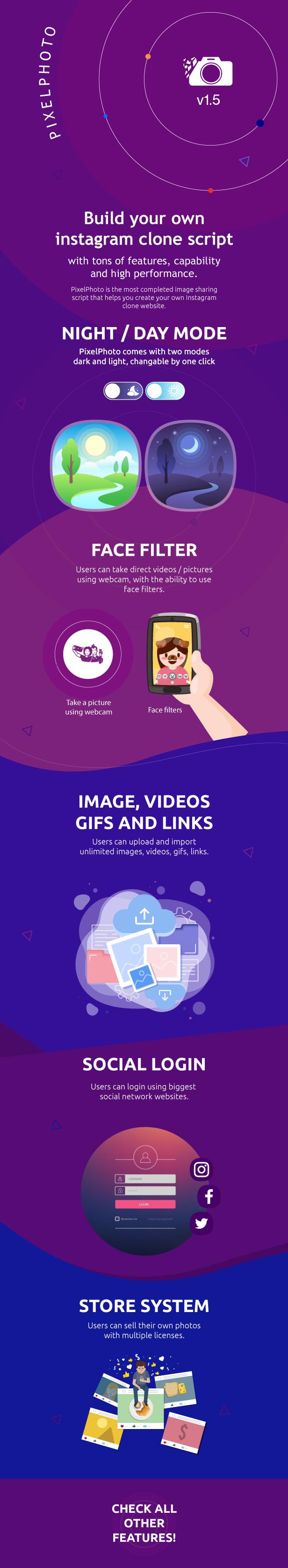 PixelPhoto - A melhor plataforma de rede social para compartilhamento de imagens e fotos - 1